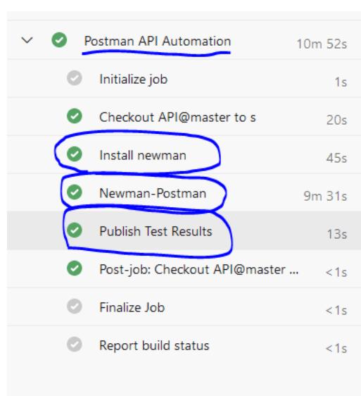Highlight postmen API automation function
